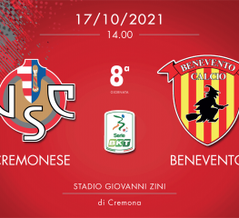 Cremonese-Benevento 1-1, tabellino e cronaca