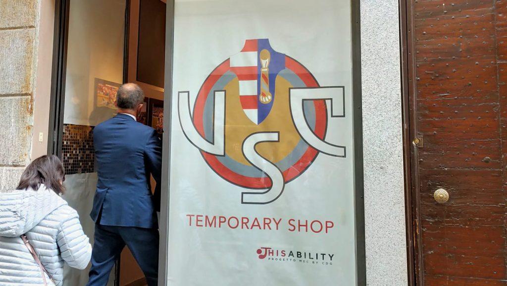 Sabato l'inaugurazione del Thisability USC Store